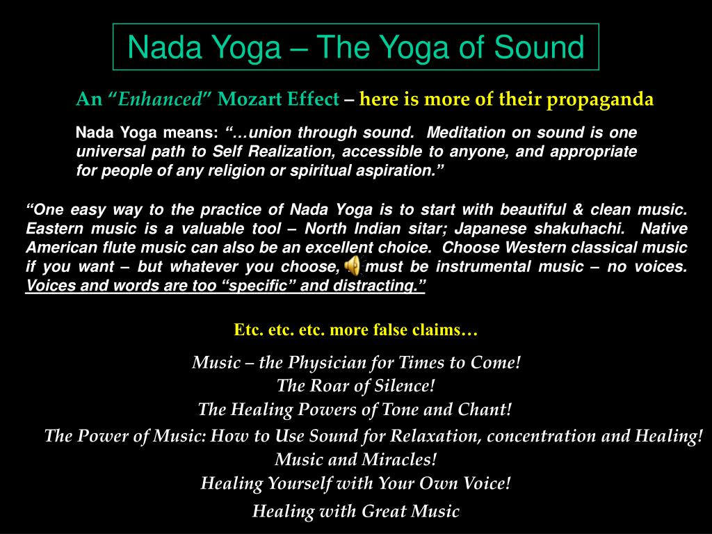 Nada Yoga – The Yoga of Sound