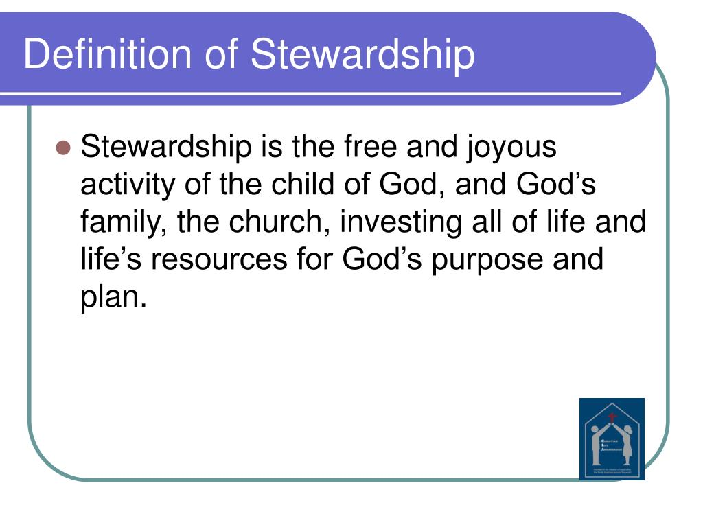 Definition of Stewardship