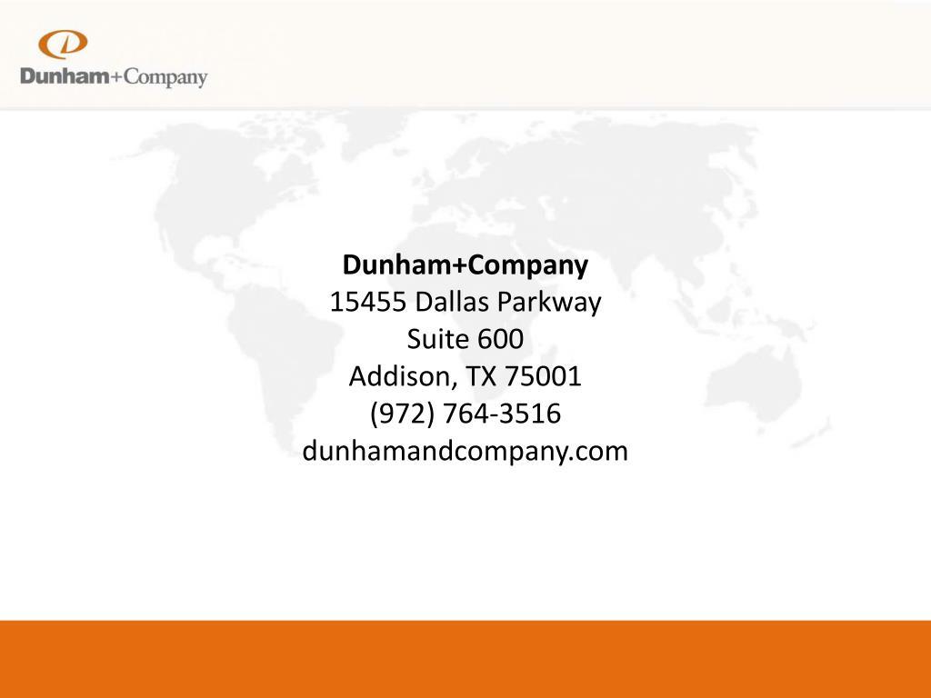 Dunham+Company