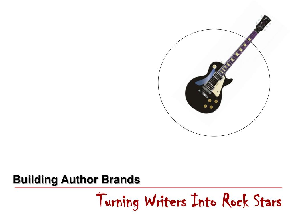 Building Author Brands