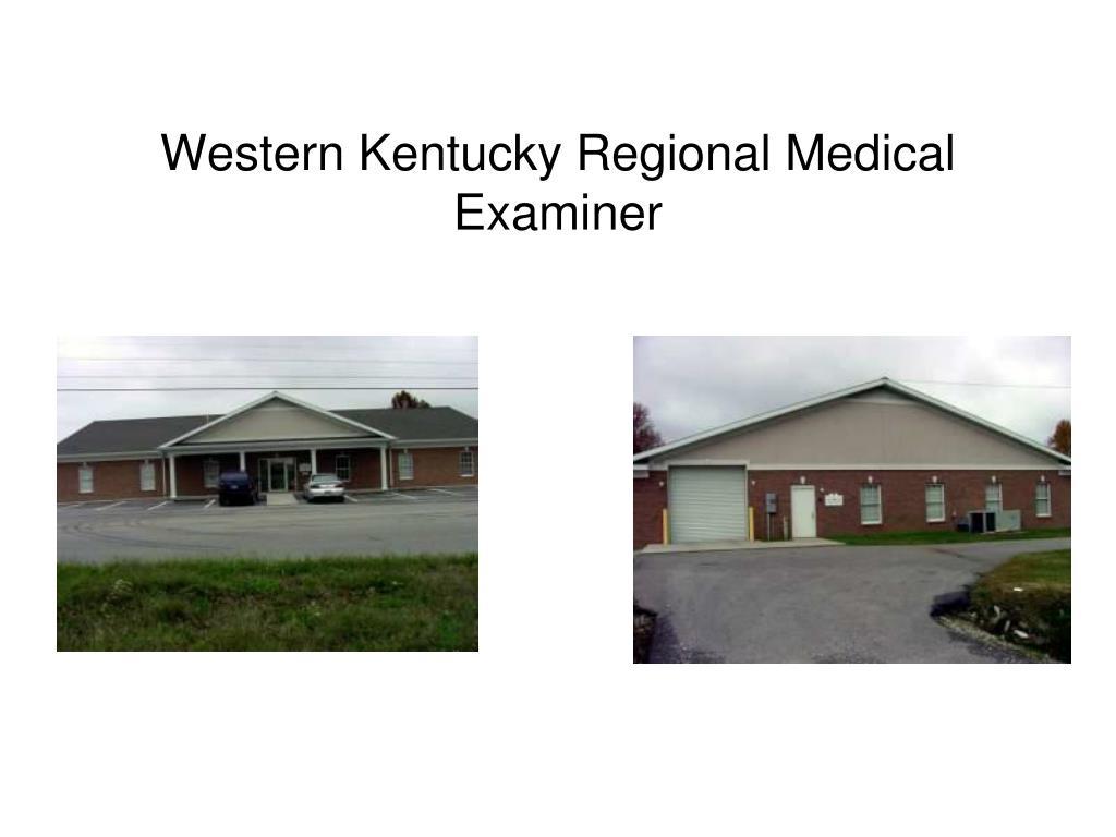 western kentucky regional medical examiner