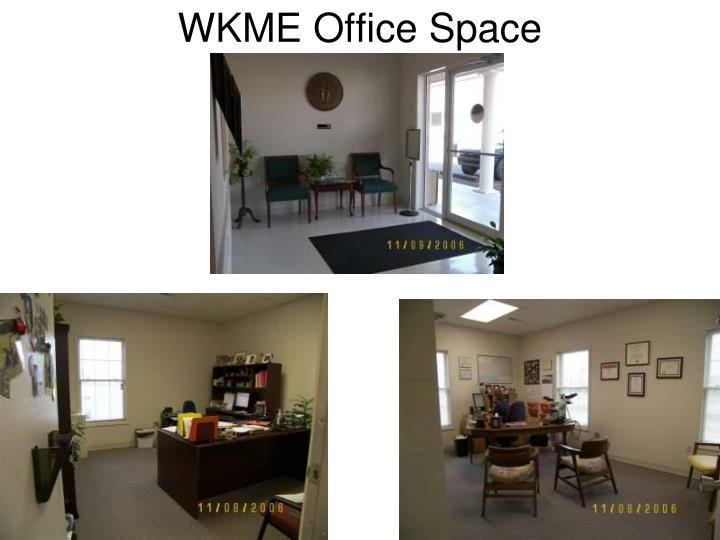 Wkme office space