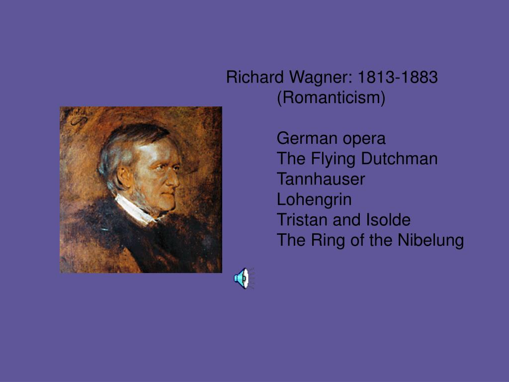 Richard Wagner: 1813-1883