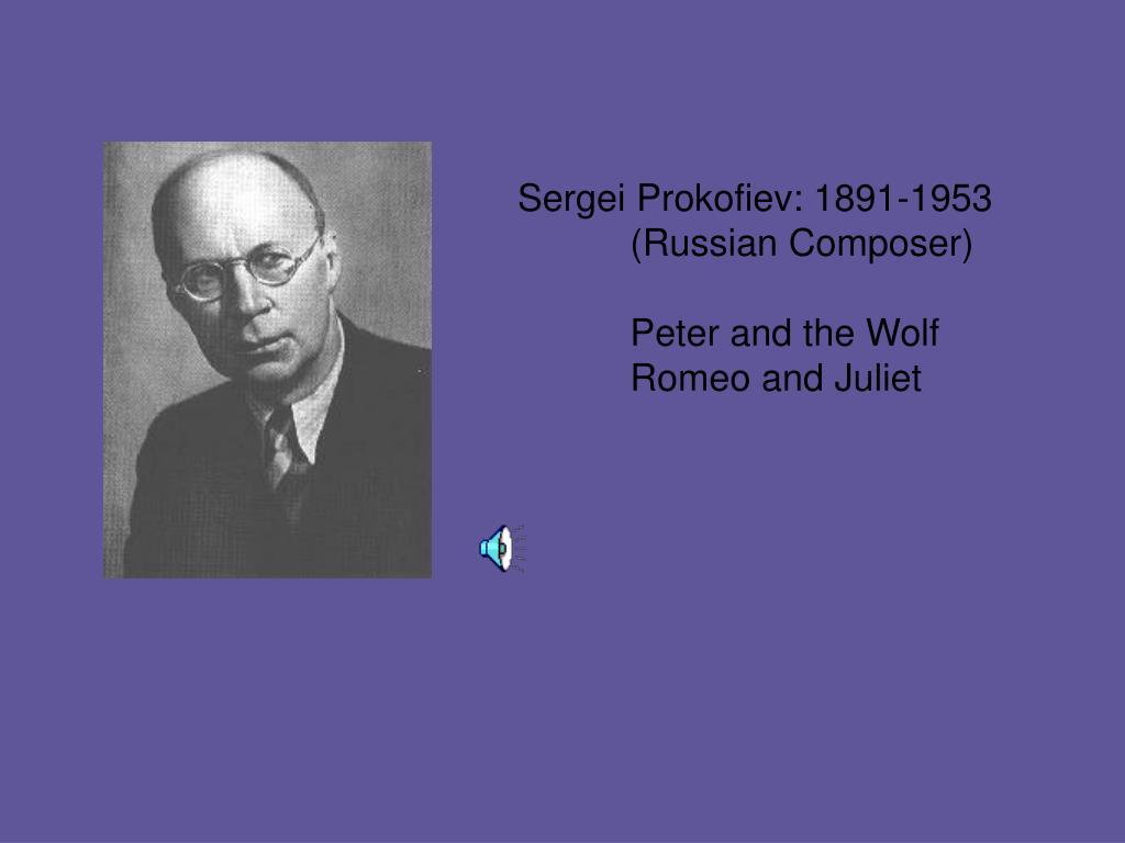 Sergei Prokofiev: 1891-1953