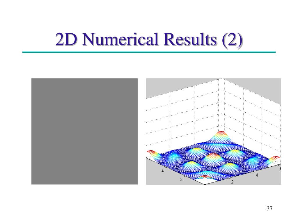 2D Numerical Results (2)