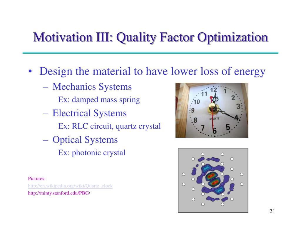 Design the material to have lower loss of energy