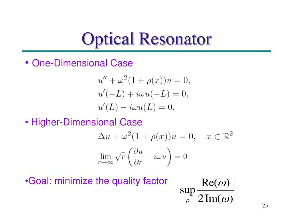 Optical Resonator