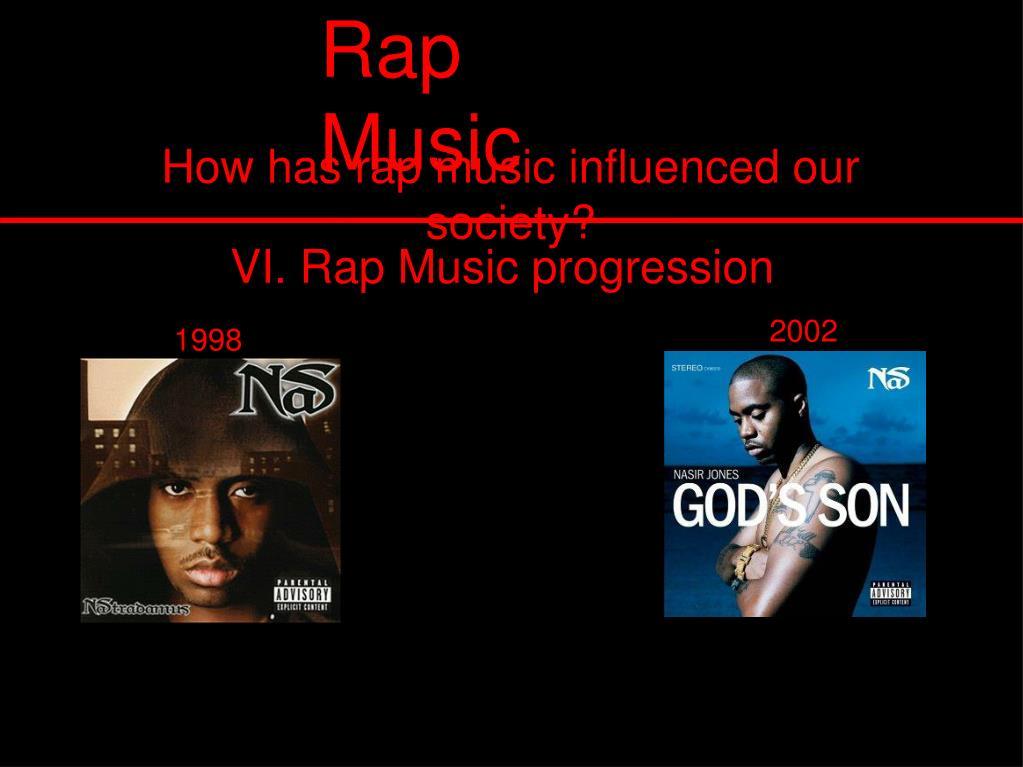 VI. Rap Music progression