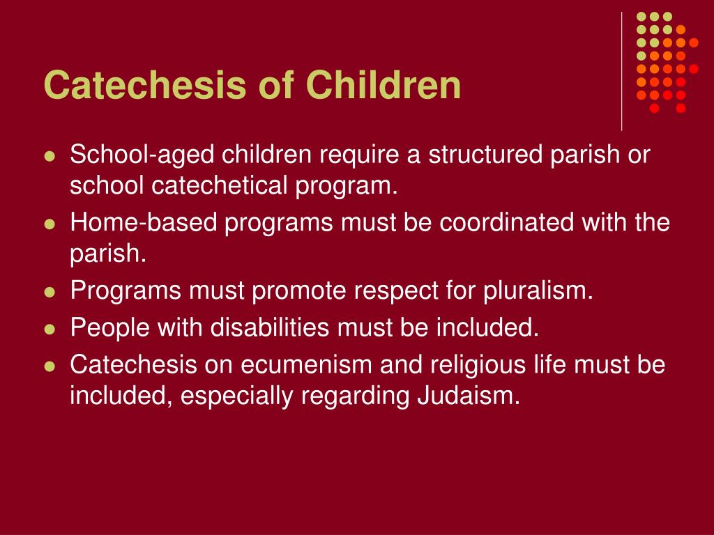 Catechesis of Children