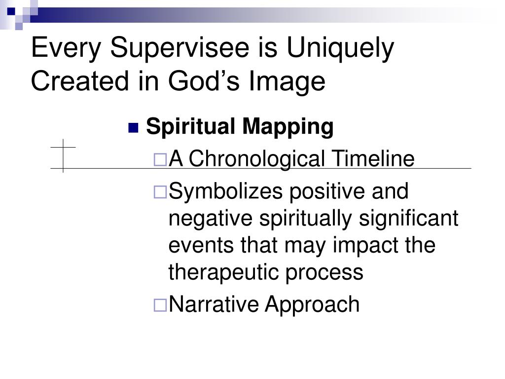 Every Supervisee is Uniquely Created in God's Image