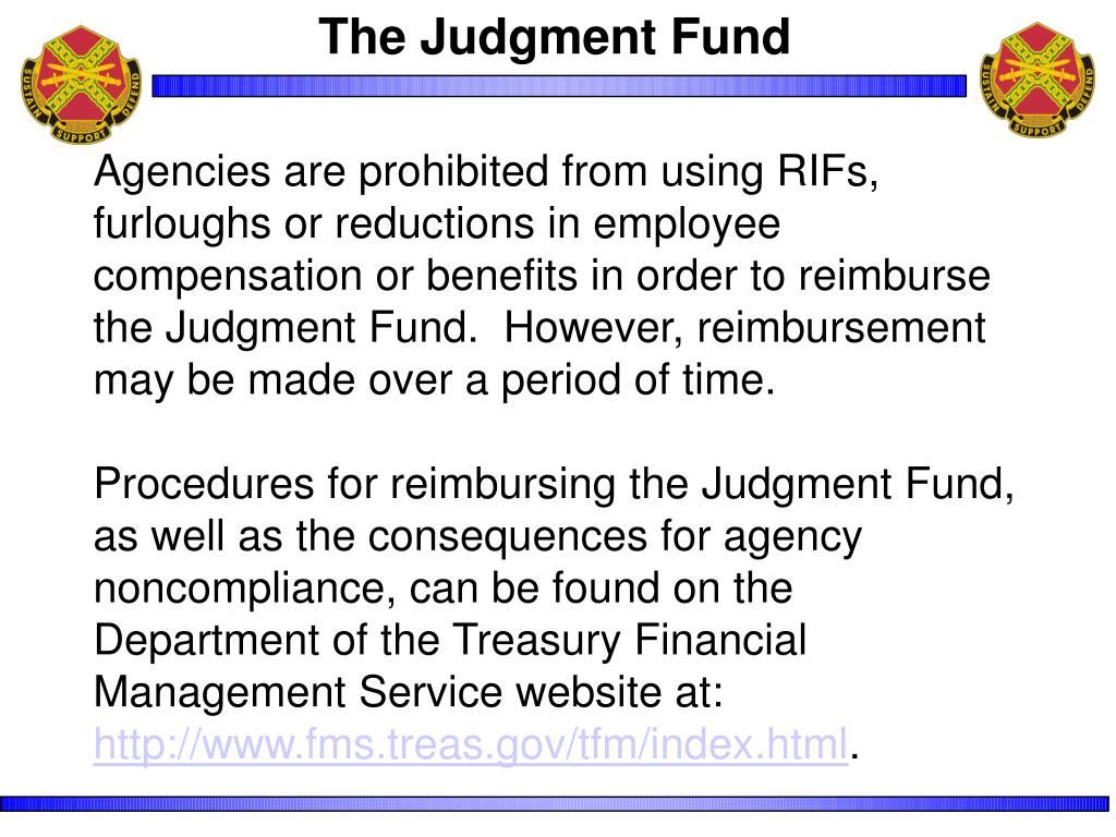 The Judgment Fund
