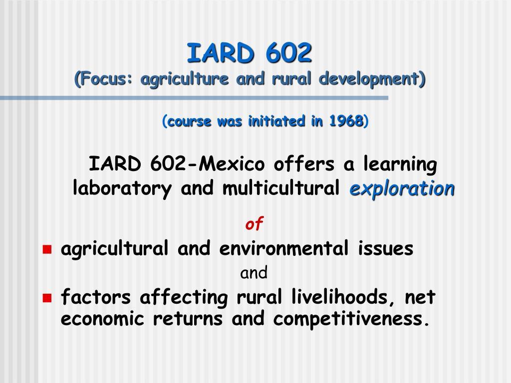 IARD 602