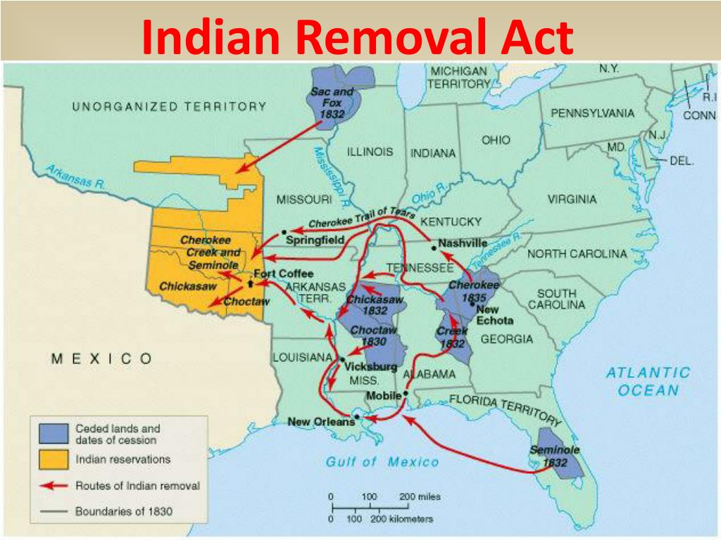 Indian Removal Act PPT - Immigration and ...