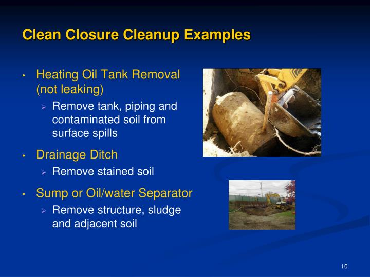 Clean Closure Cleanup Examples
