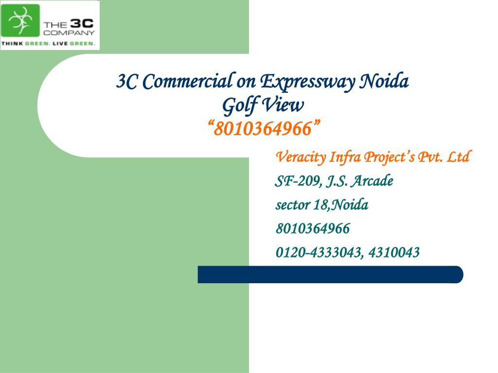 3c commercial on expressway noida golf view 8010364966