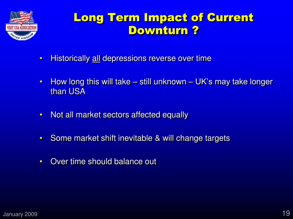 Long Term Impact of Current Downturn ?