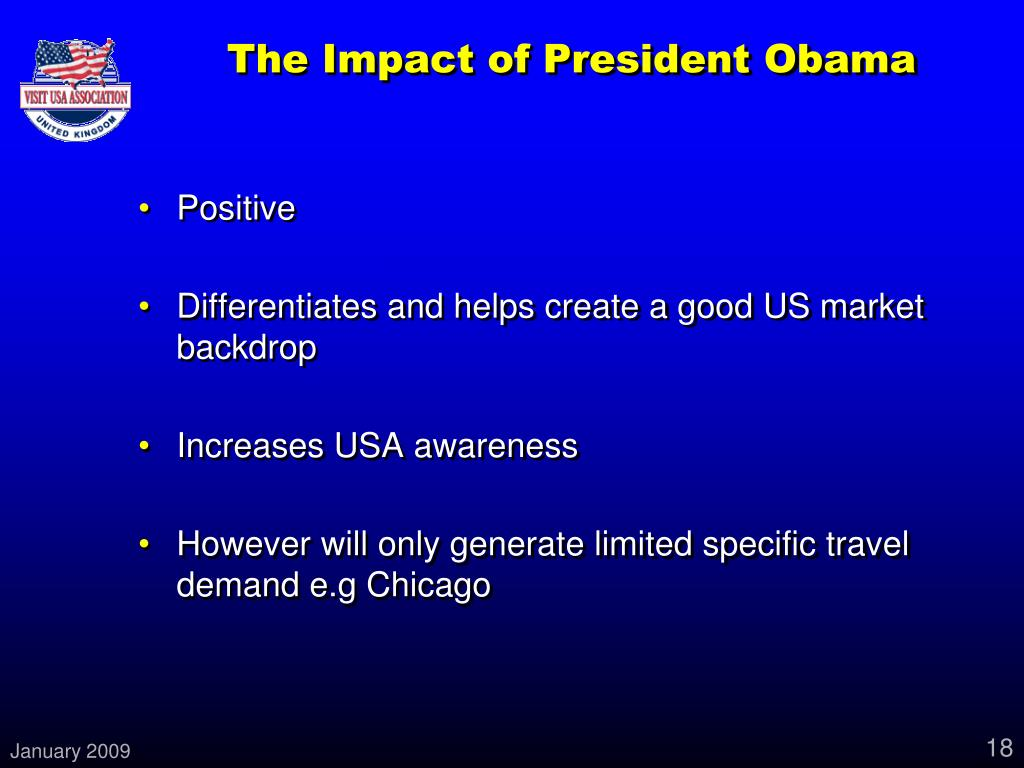 The Impact of President Obama