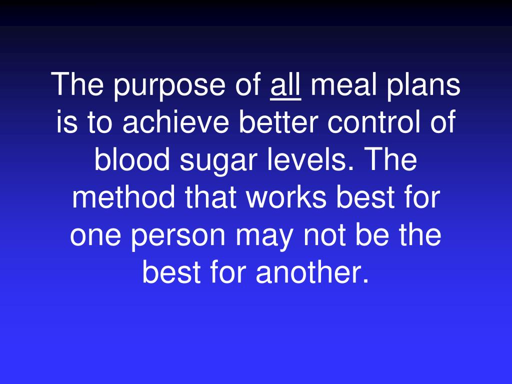 The purpose of