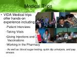 medical trips