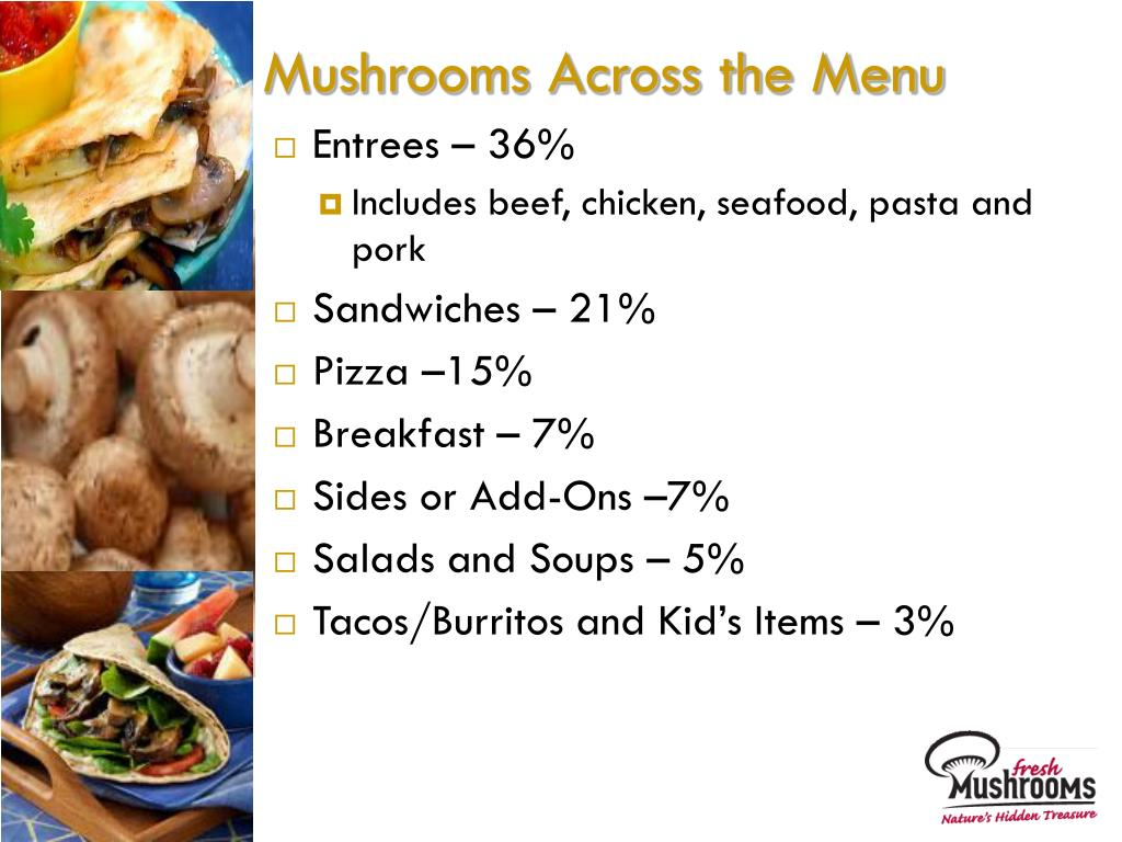 Mushrooms Across the Menu