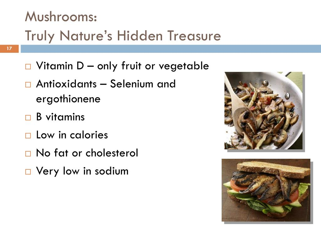 Mushrooms: