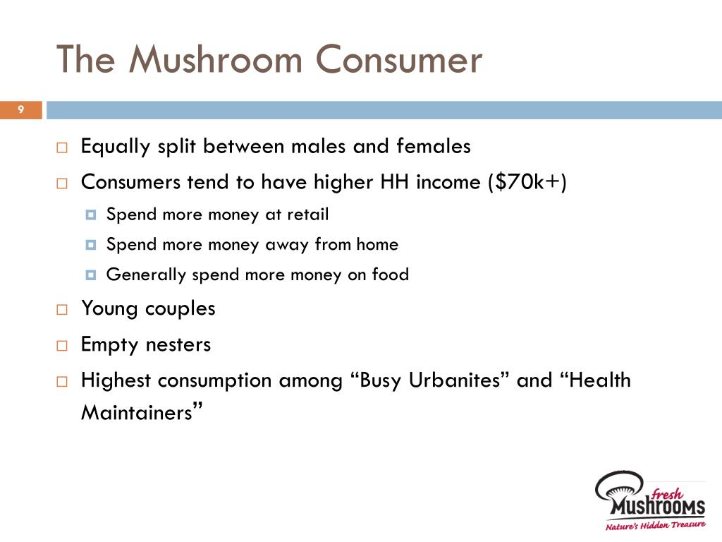 The Mushroom Consumer