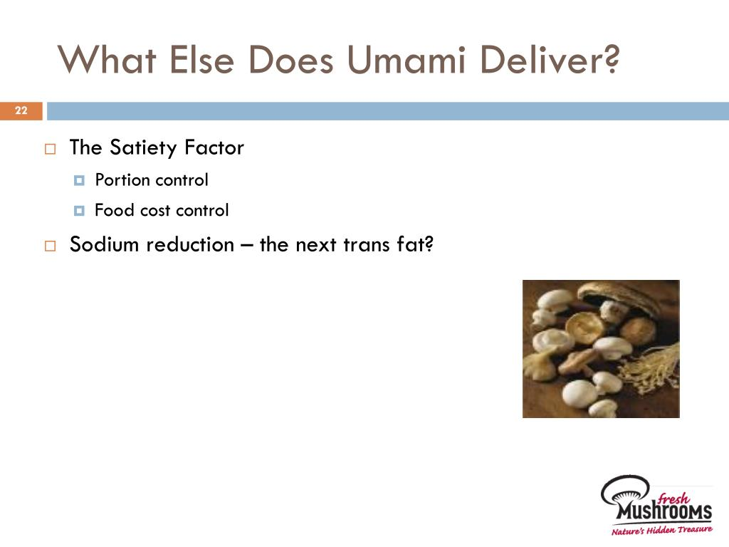 What Else Does Umami Deliver?