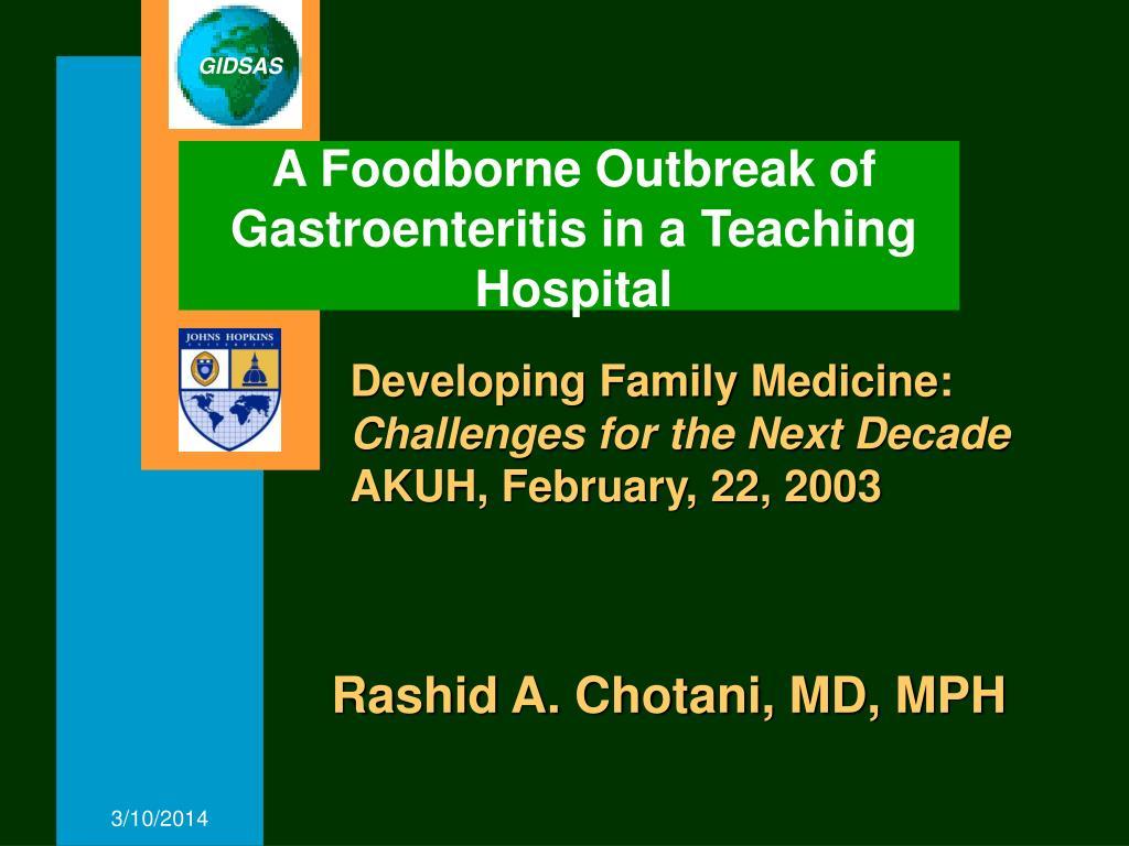 Developing Family Medicine: