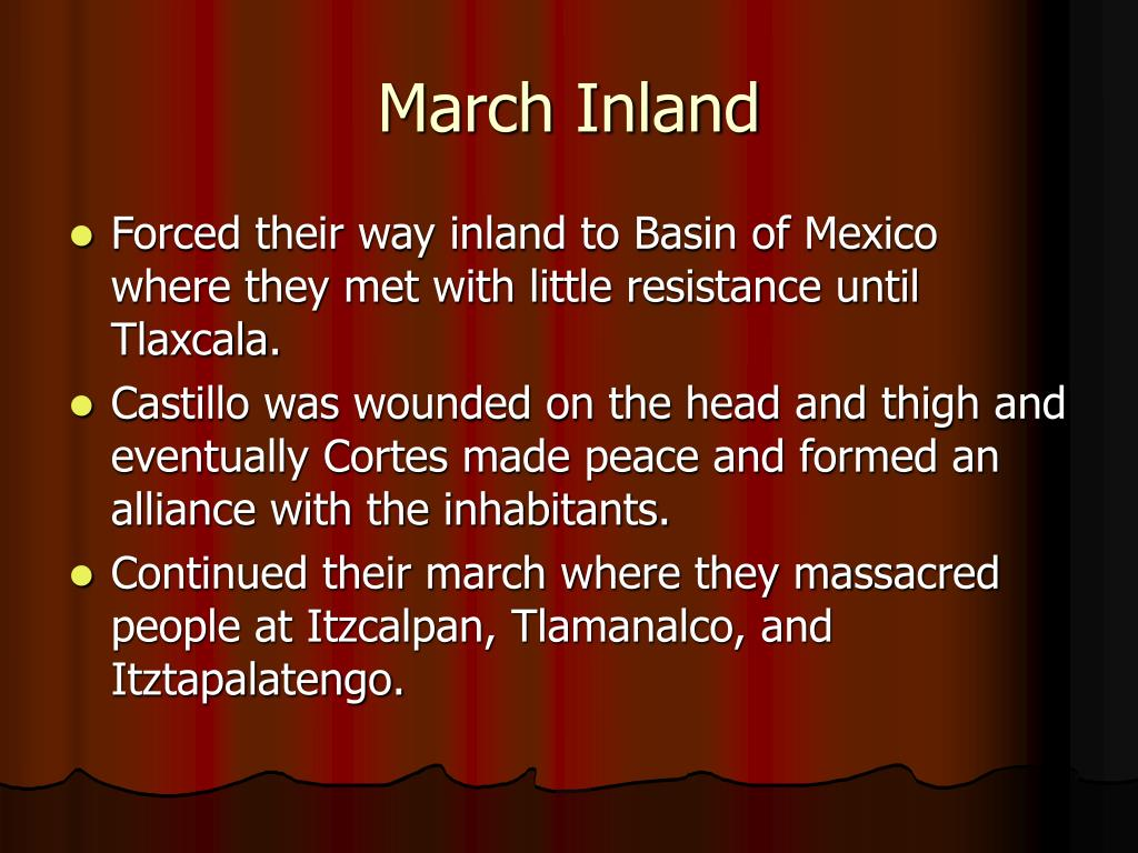 March Inland