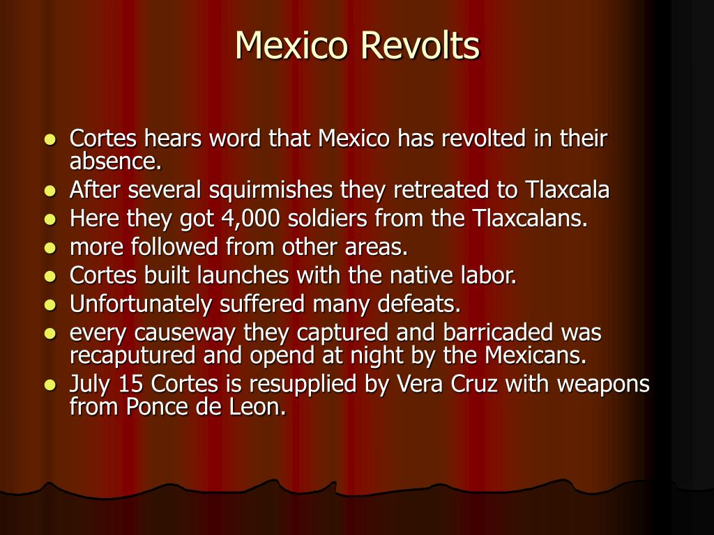 Mexico Revolts
