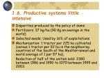 1 6 productive systems little intensive