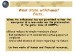 what state withdrawal facts38