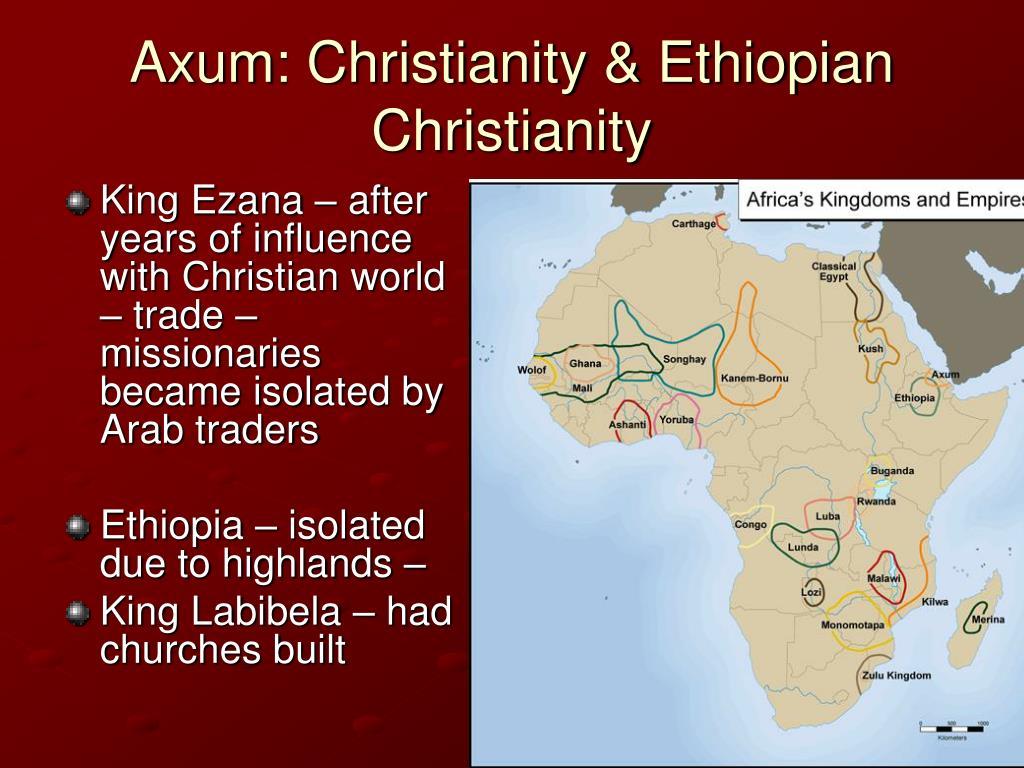 Axum: Christianity & Ethiopian Christianity