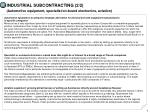 industrial subcontracting 2 2 automotive equipment specialist on board electronics aviation