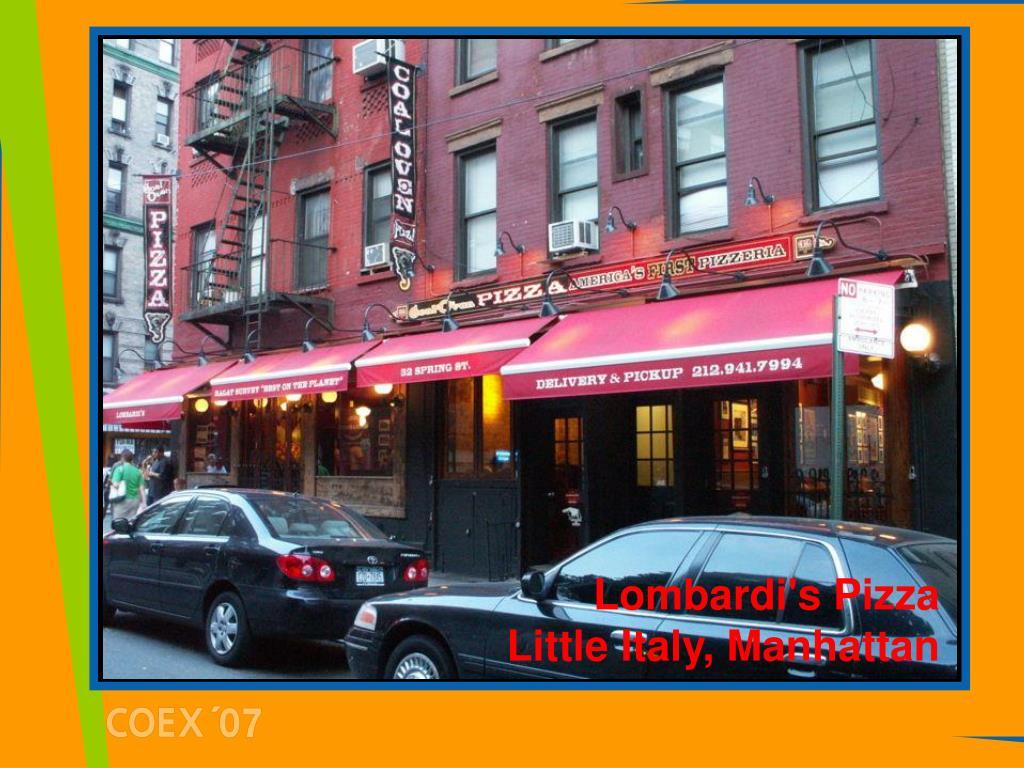 Lombardi's Pizza Little Italy, Manhattan