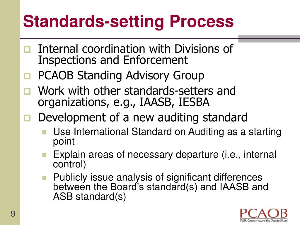 Standards-setting Process