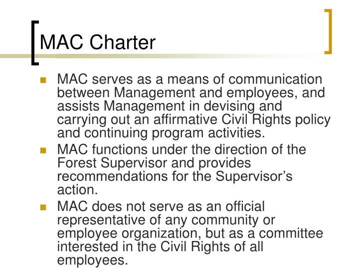 MAC Charter