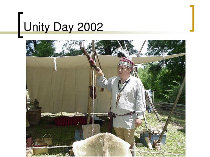 Unity Day 2002