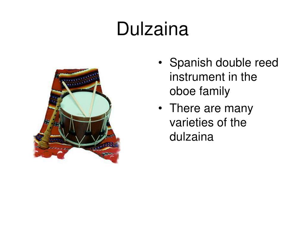 Dulzaina
