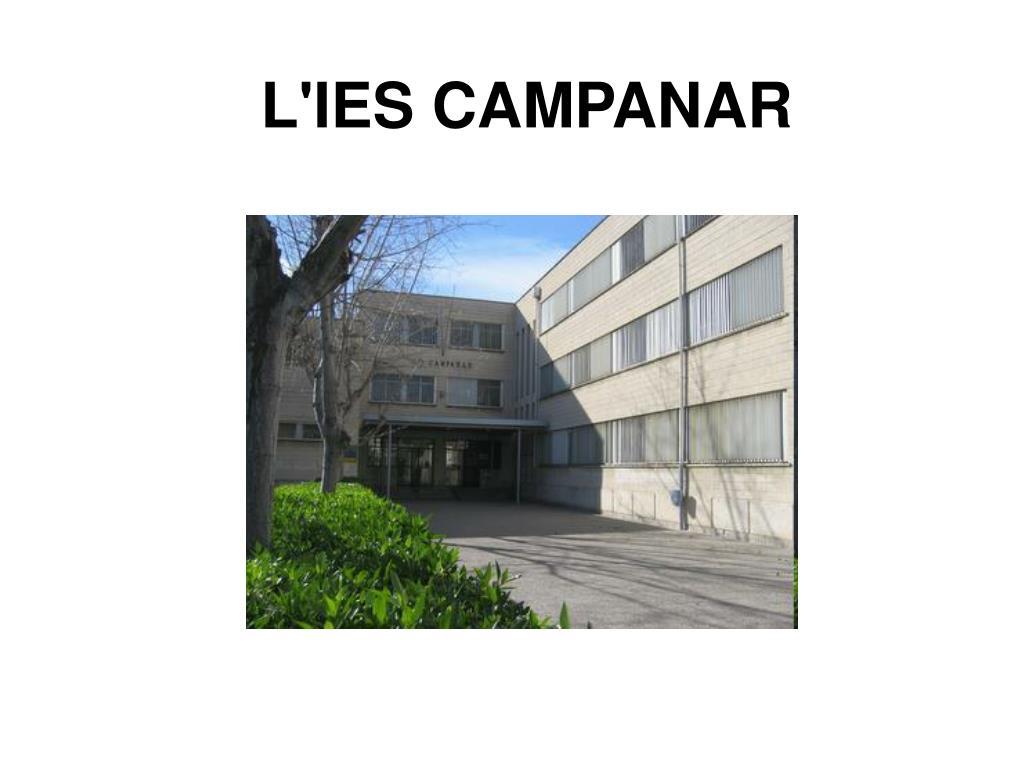 L'IES CAMPANAR