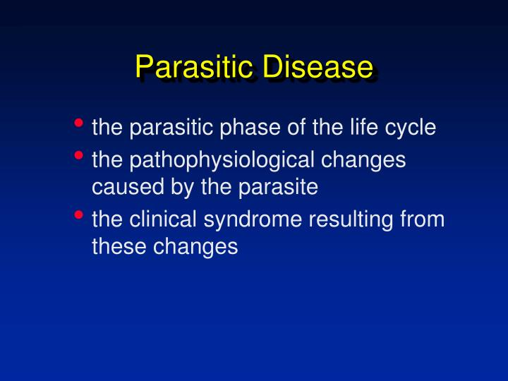 Parasitic disease