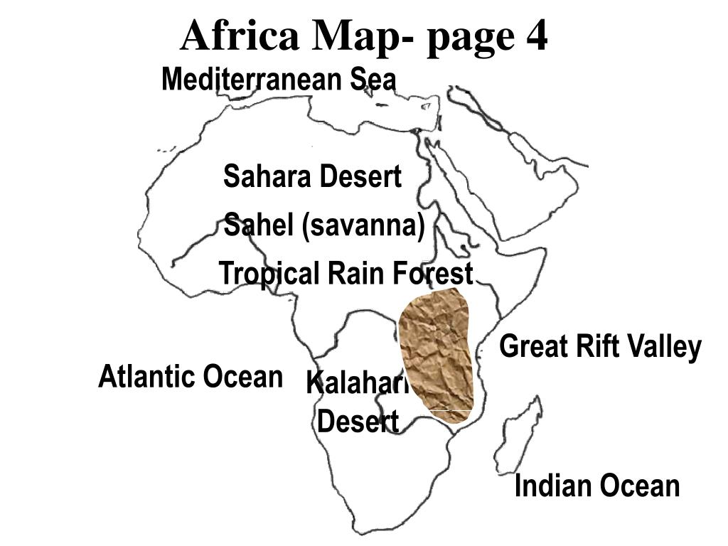 Africa Map- page 4