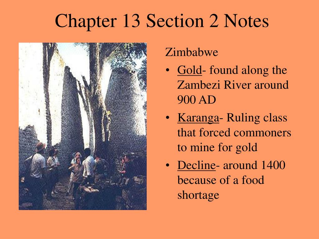 Chapter 13 Section 2 Notes