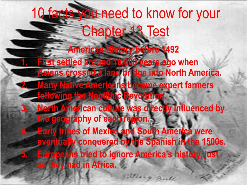 10 facts you need to know for your Chapter 13 Test