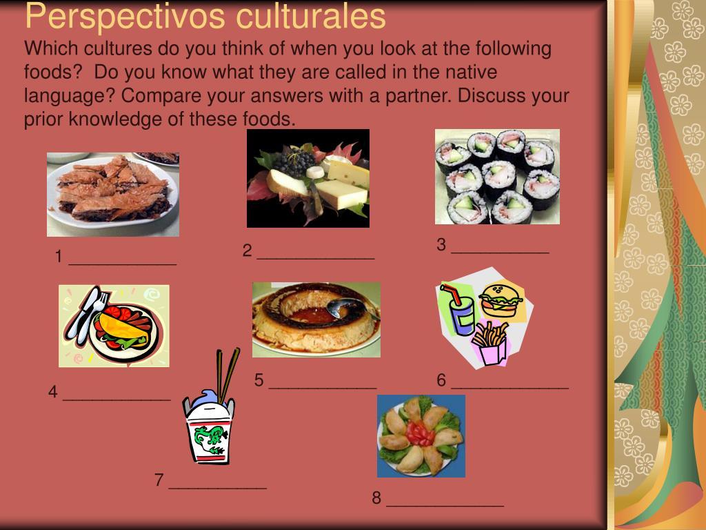 Perspectivos culturales