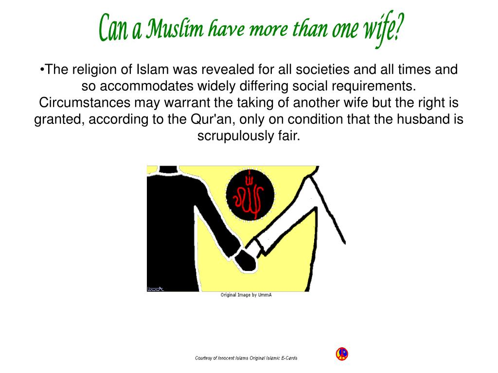 Can a Muslim have more than one wife?