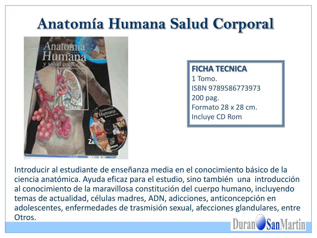 Anatomía Humana Salud Corporal