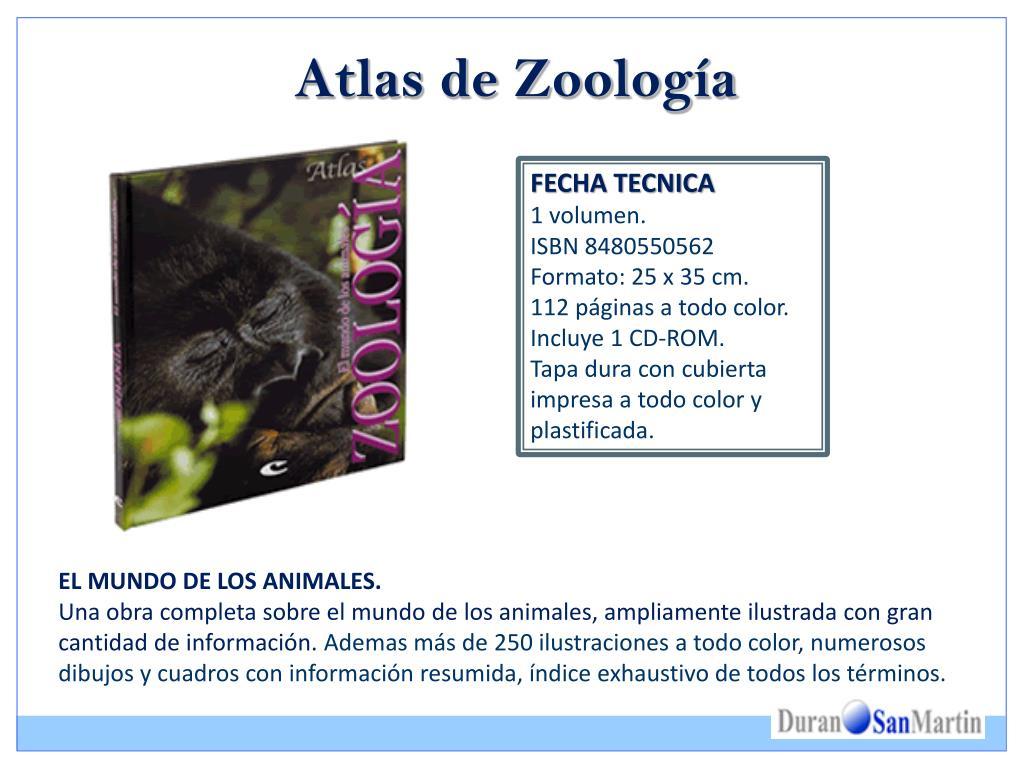 Atlas de Zoología