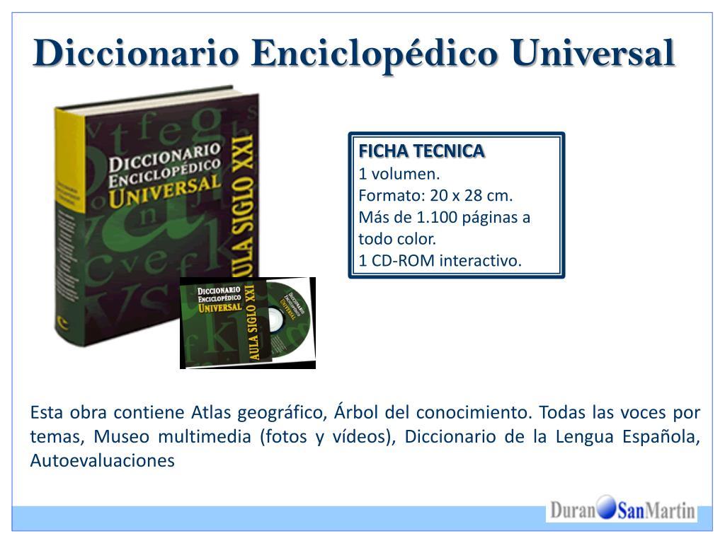 Diccionario Enciclopédico Universal