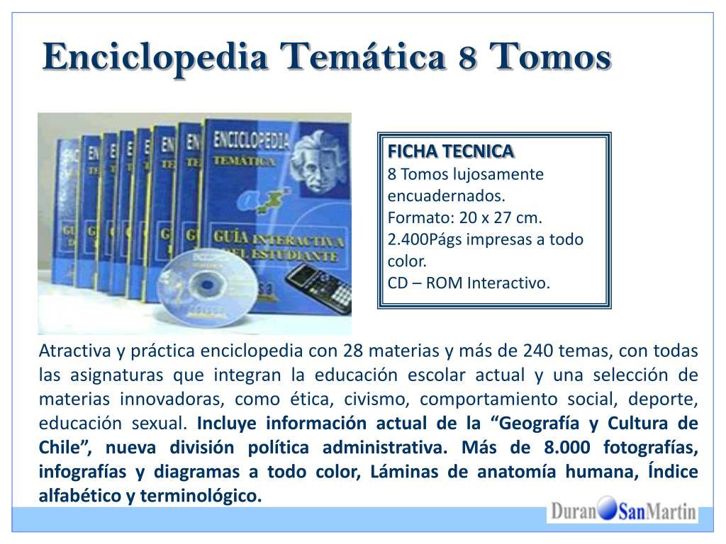Enciclopedia Temática 8 Tomos